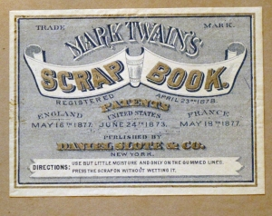 Mark Twain Patented Scrapbbok_1882