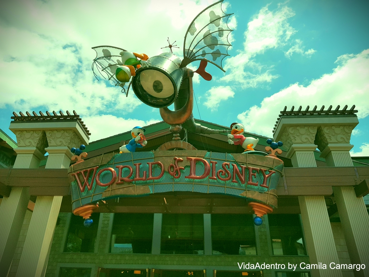 2 dia Disney Springs World of disney movavi